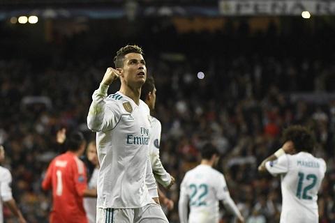 Real Madrid được đánh giá cao nhất tại bán kết Champions League 2017/18
