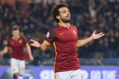 Liverpool vs AS Roma Salah