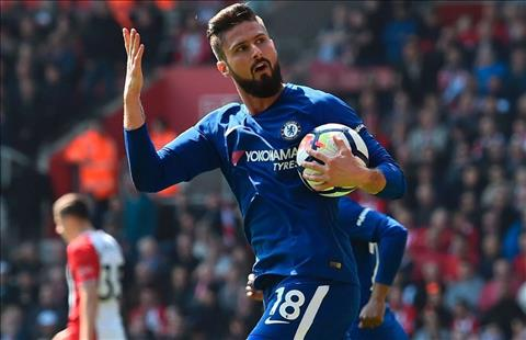 Giroud thap sang lai hy vong cho Chelsea
