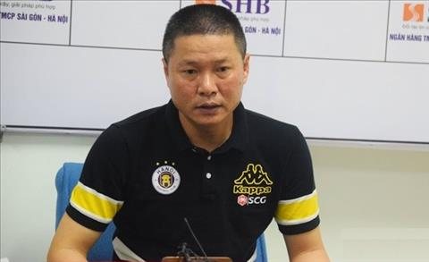 HLV Chu Đình Nghiêm phát biểu bất ngờ sau trận thắng Quảng Nam hình ảnh