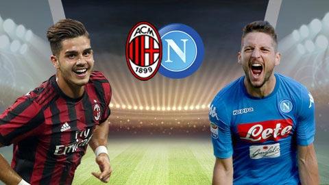Nhan dinh AC Milan vs Napoli 20h00 ngay 154 Serie A 201718 hinh anh