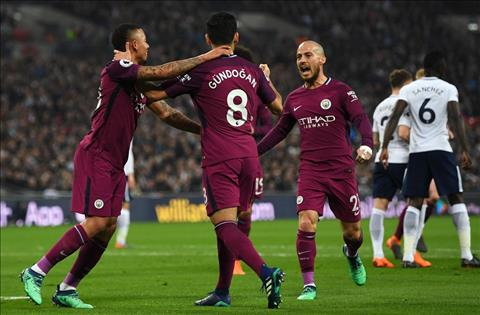Man City danh bai Tottenham