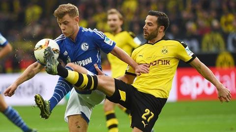 Schalke vs Dortmund 20h30 ngày 2610 Bundesliga 201920 hình ảnh