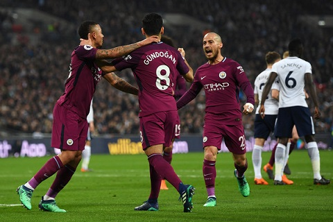 Tottenham vs Man City 1-3
