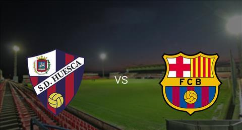 Kết quả hình ảnh cho Huesca vs Barcelona