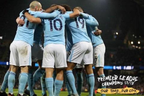 Man City vo dich Premier League 201718 chua manh nhat lich su hinh anh