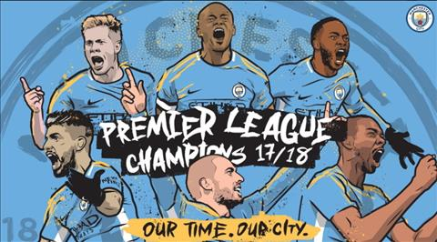 Man City vo dich Premier League day xung dang.
