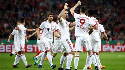 Clip ban thang Leverkusen vs Bayern Munich 2-6 Cup quoc gia Duc hinh anh