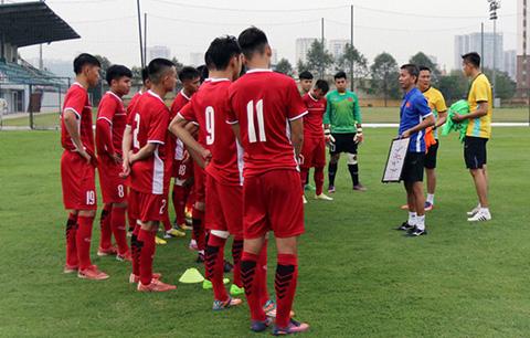 Lich thi dau U19 Viet Nam 2018 tai giai Suwon JS Cup hinh anh
