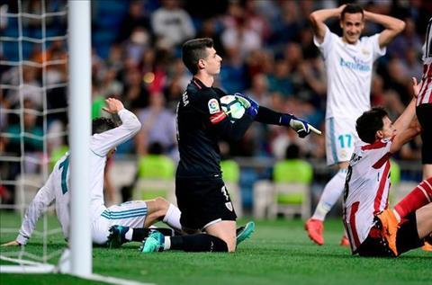 Kepa Arrizabalaga bat chac tay truoc Real