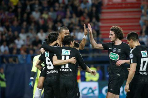 Clip ban thang Caen vs PSG 1-3 Ban ket cup quoc gia Phap 201718 hinh anh