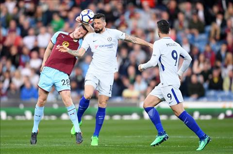 Chelsea vs Burnley Giroud va Morata