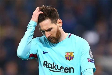 Messi va cac dong doi Barca bi loai soc o tu ket Champions League boi AS Roma