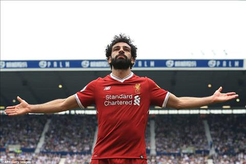 Jordan Henderson phat bieu ve Mohamed Salah hinh anh