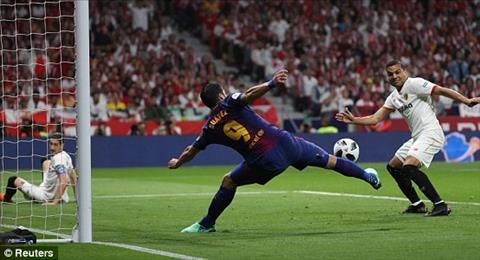 Tong hop: Barca 5-0 Sevilla (Chung ket cup Nha vua TBN 2017/18)