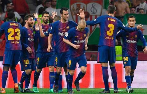 Video Barca vs Sevilla 5-0 chung ket cup nha vua Tay Ban Nha 2018 hinh anh