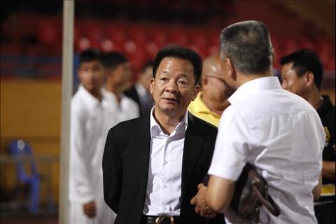 Bau Hien thuong Sai Gon FC du Ha Noi bi cam hoa.