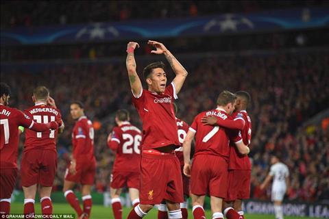 Firmino Liverpool 5-2 Roma