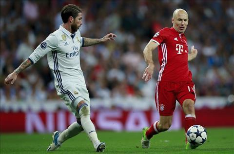 Sergio Ramos Bayern vs Real