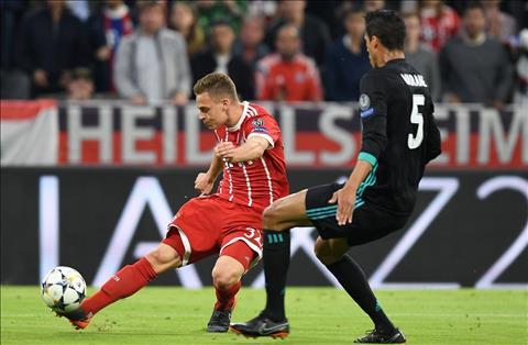Bayern vs Real Kimmich va Varane