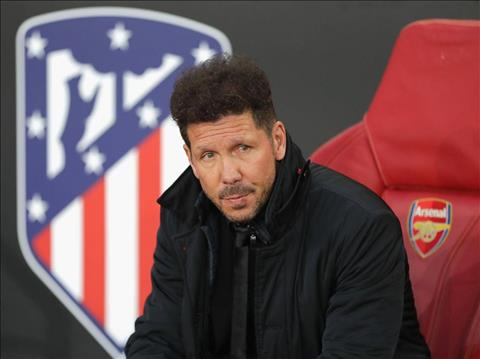 Diego Simeone rat thich hop lam nguoi thay the Arsene Wenger.