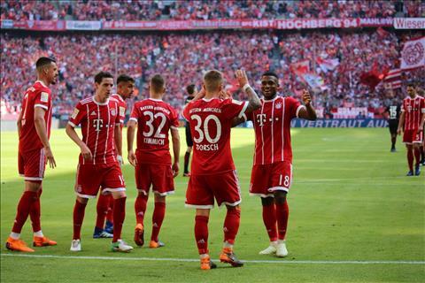 Clip ban thang Bayern Munich vs Frankfurt 4-1 Bundesliga 201718 hinh anh