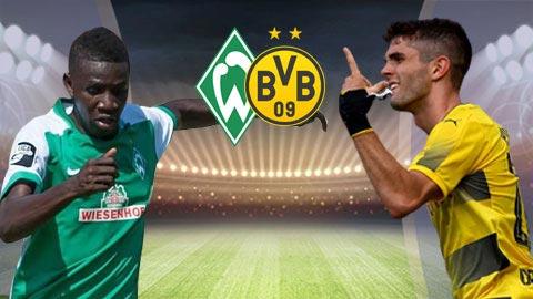 Bremen vs Dortmund 23h30 ngày 45 (Bundesliga 201819) hình ảnh