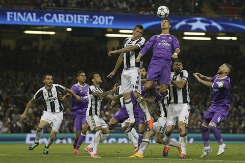 Trận chung kết 2017 giữa Juventus vs Real Madrid là kỷ niệm buồn với CLB Italia
