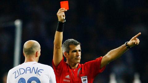 Lịch sử tấm thẻ phạt tại các VCK World Cup