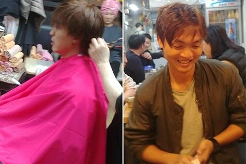 Tuấn Anh thay đổi kiểu tóc cực chất