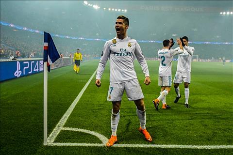 PSG 1-2 Real Madrid
