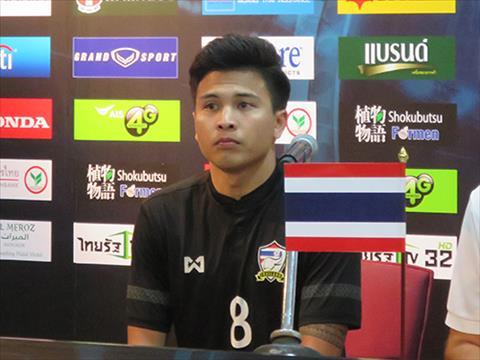 Tiền vệ Thitipan Puangchan sang Nhật Bản thi đấu sau AFF Cup 2018 hình ảnh