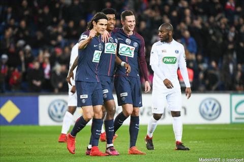 Clip ban thang PSG vs Guingamp 2-2 Vong 35 Ligue 1 201718 hinh anh