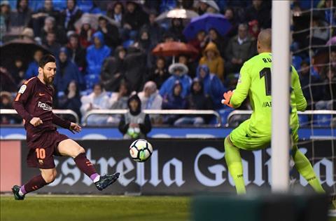 Messi phat bieu sau khi Barca vo dich La Liga hinh anh