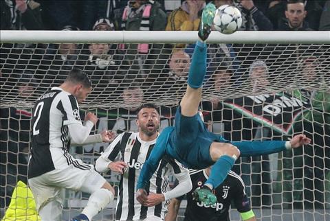 Cristiano Ronaldo ghi ban truoc Juventus