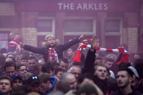 Liverpool 3-0 Man City sự khác biệt từ trên khán đài