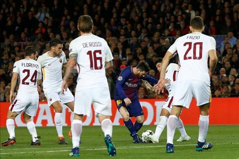 Messi van choi hay truoc Roma