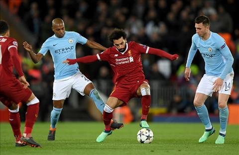 Salah Liverpool vs Man City