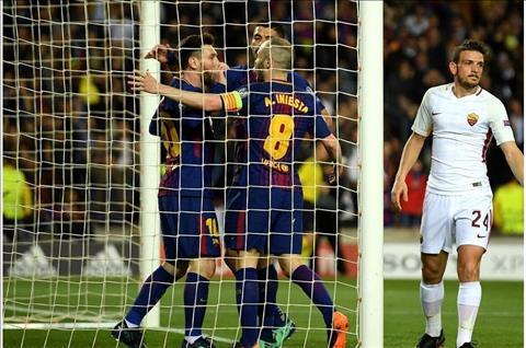 Tran dau Roma vs Barca (1h45 ngay 114) No nan chong chat hinh anh