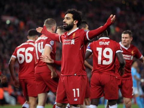 Salah Liverpool 3-0 Man City