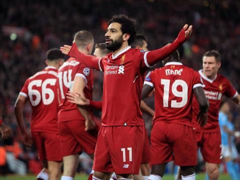 Salah Liverpool 3-0 Man City