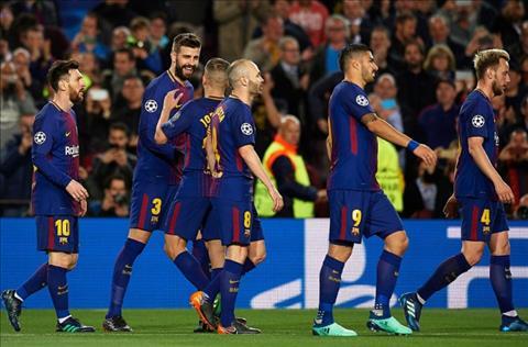 Barca thang Roma 4-1