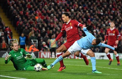 Tiền đạo Gabriel Jesus trong trận thua Liverpool