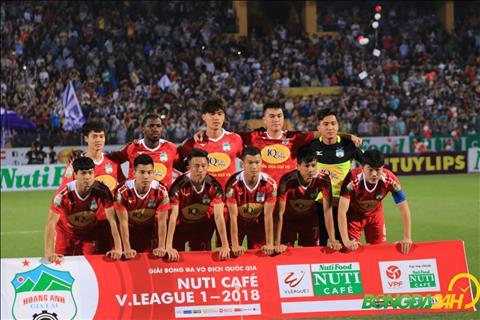 HAGL cua bau Duc co su thay doi nhan su o phut cuoi khi Van Toan the cho Duc Luong trong danh sach dang ky thi dau.