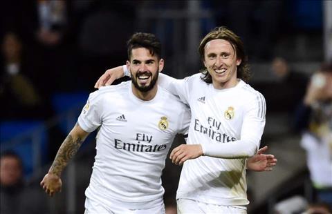 Isco tiet lo Luka Modric roi Real Madrid o He 2018