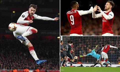 Arsenal va Man Utd deu no luc tai Europa League de gianh quyen du Champions League.
