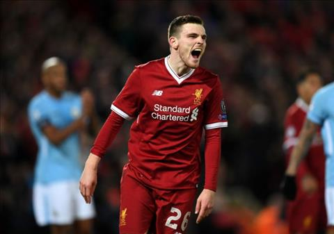 Andy Robertson chan thuong, Liverpool lo sot vo hinh anh