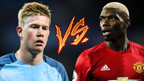 Pogba bi dim hang truoc De Bruyne tran derby Man City vs MU hinh anh