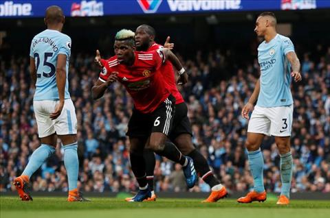 Pogba Man City vs MU