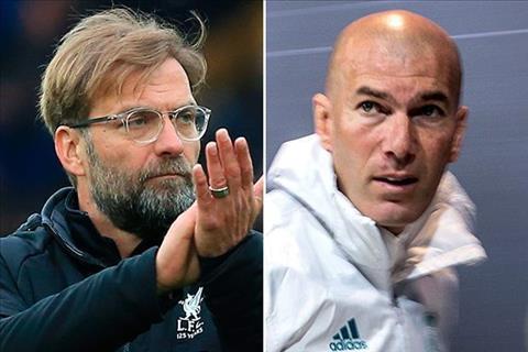 Real nham Klopp thay Zidane